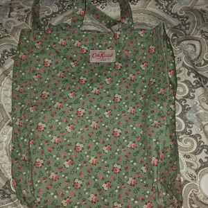 Green Floral Cath Kidston Tote